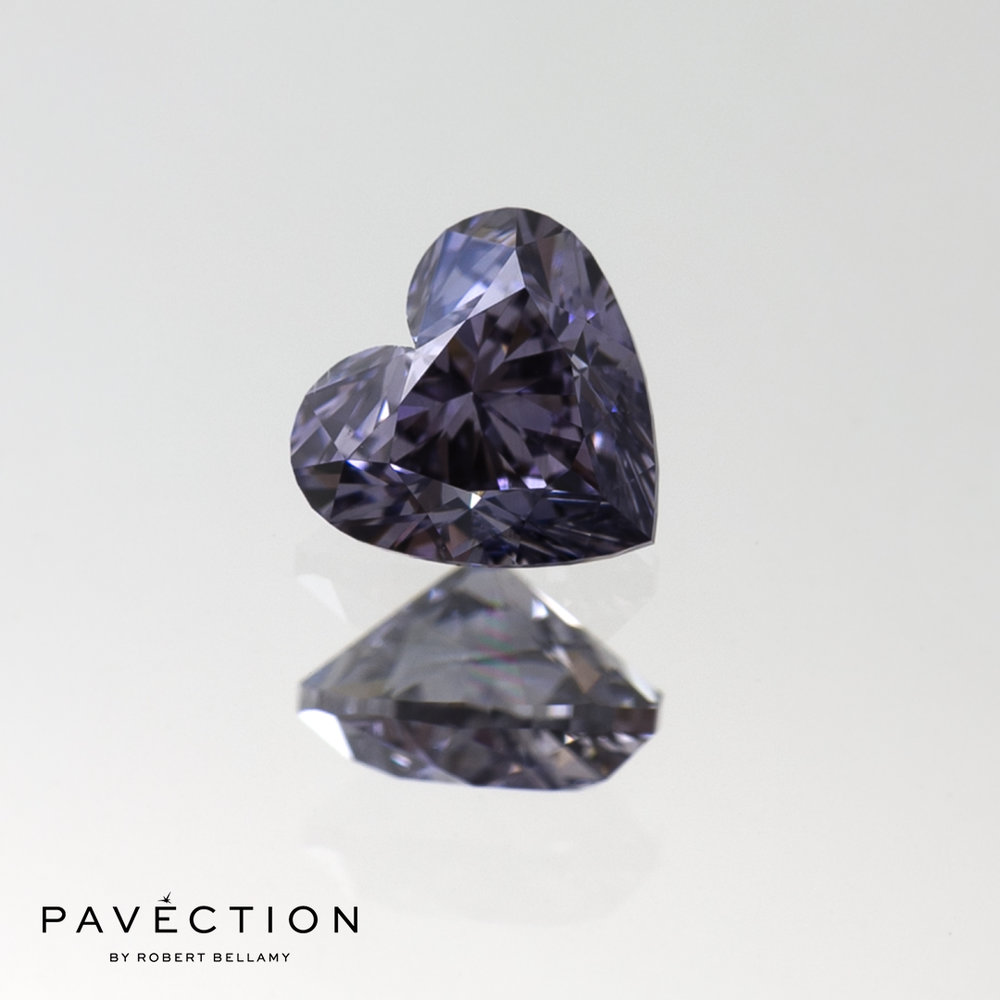 0.64ct BL2 VS2 Heart Cut, Lot 7 - 2017 Argyle Tender