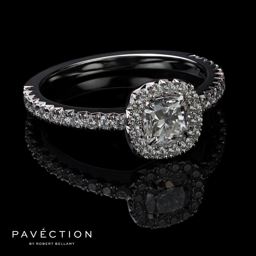 Designer platinum engagement ring brisbane sydney melbourne.jpg