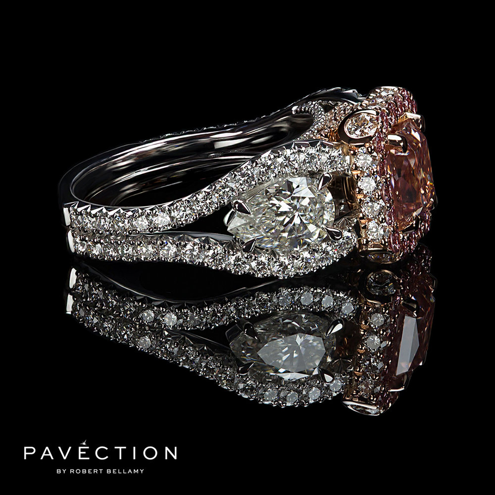 Pavection-Robert-Bellamy-1.07ct-Argyle-Pink-Radiant-Cut-Diamond-Designer-Engagement-Ring-Iamai-Side-View-Platinum-Brisbane.jpg