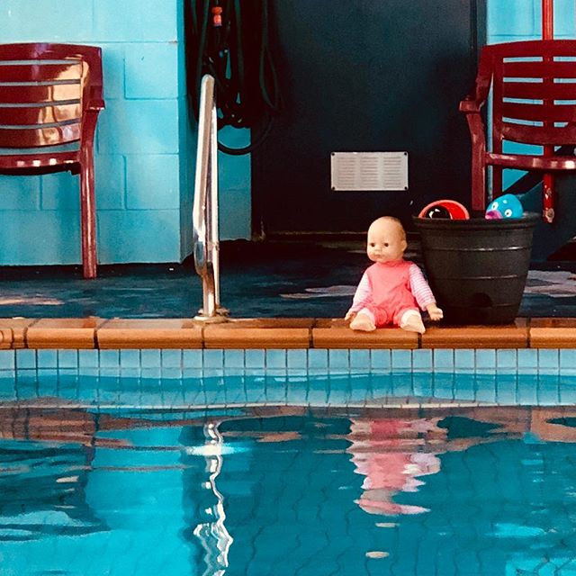 Saturday morning swimming lesson #goldcoast #queensland #australia #swimming #swimminglessons #doll