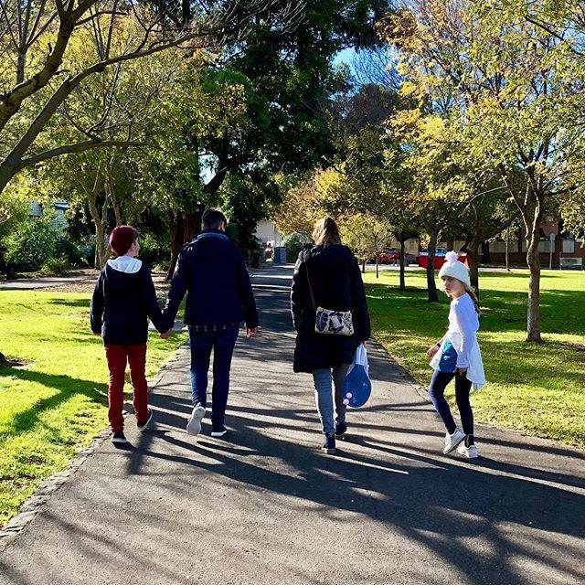 Park life #yarraville #melbourne #australia #winterdays #park #sunshine