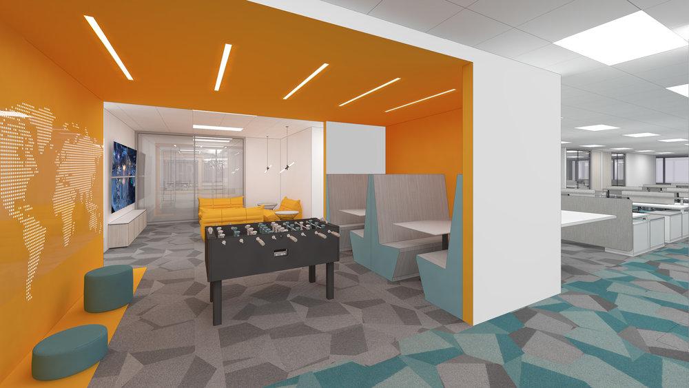 (3/4) Tech Company Headquarters -Tenant Improvements