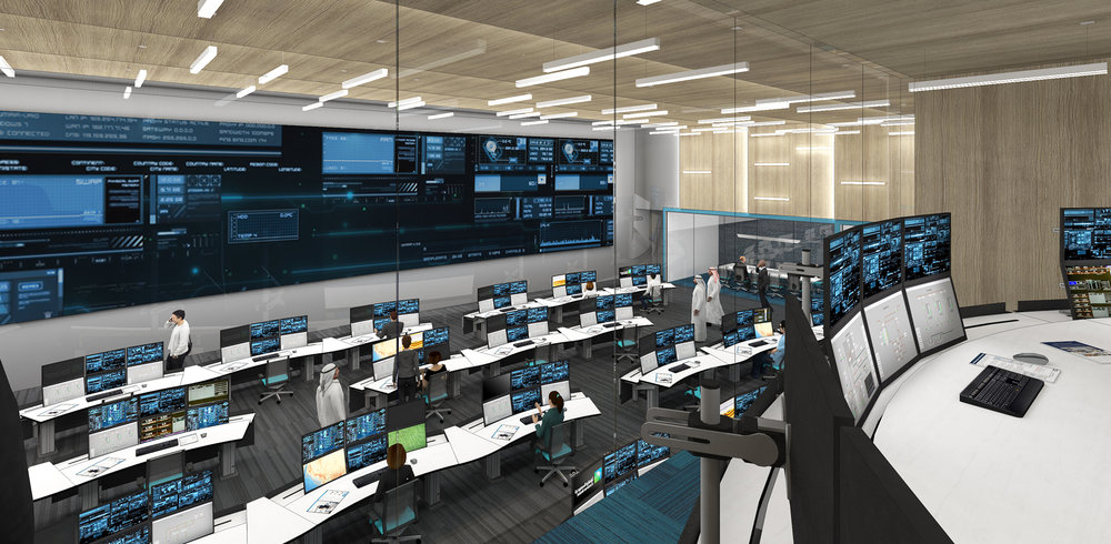(2/3) O&G Company Control Center - Tenant Improvements