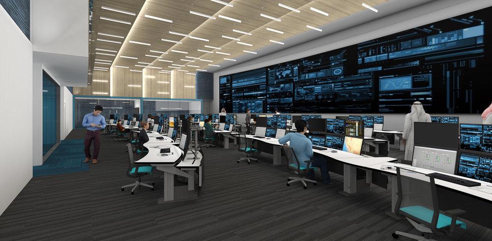 (1/3) O&G Company Control Center - Tenant Improvements