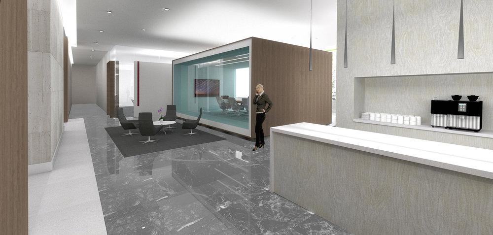 (1/3) Office Building - Lobby Renovation