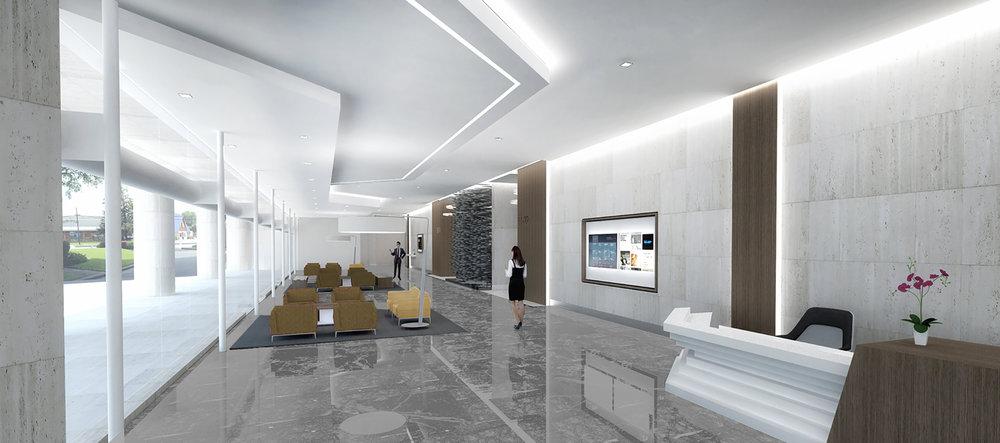(2/3) Office Building - Lobby Renovation