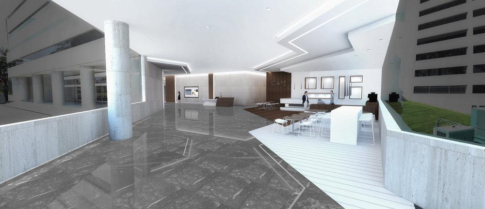 (3/3) Office Building - Lobby Renovation