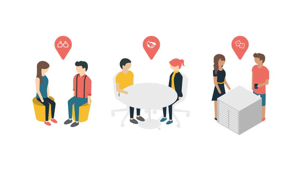 "(4/6) ""A Modern Workspace"" - Infographics"