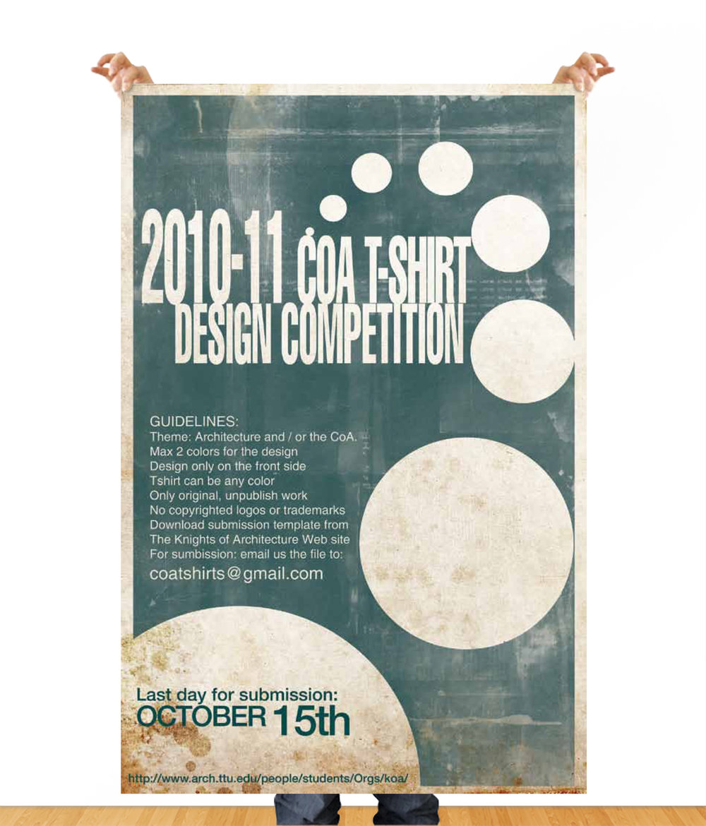 Academic Competition - Poster Design