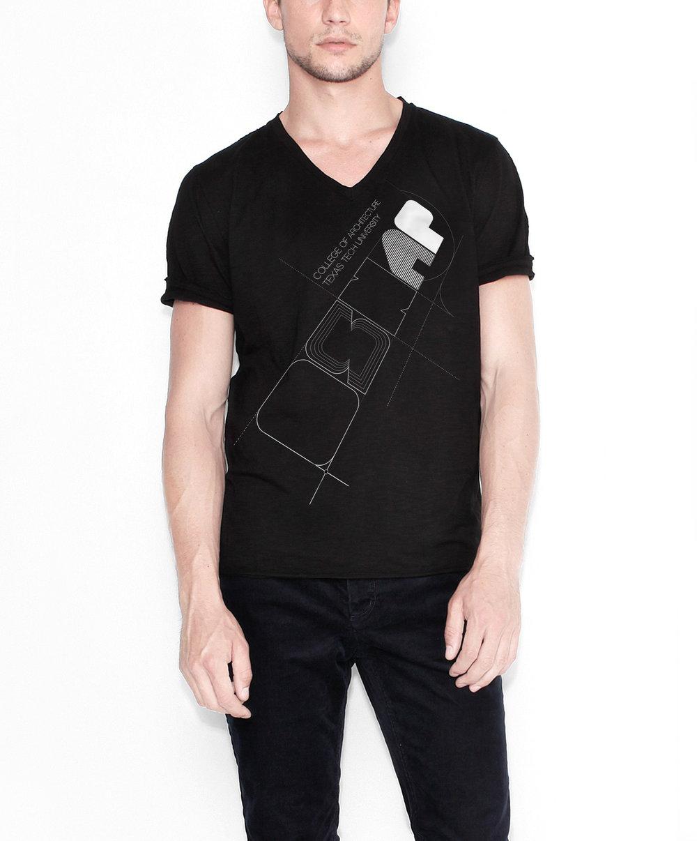 (1/2) 2011 Official Texas Tech COA T-shirt -  Apparel Graphics