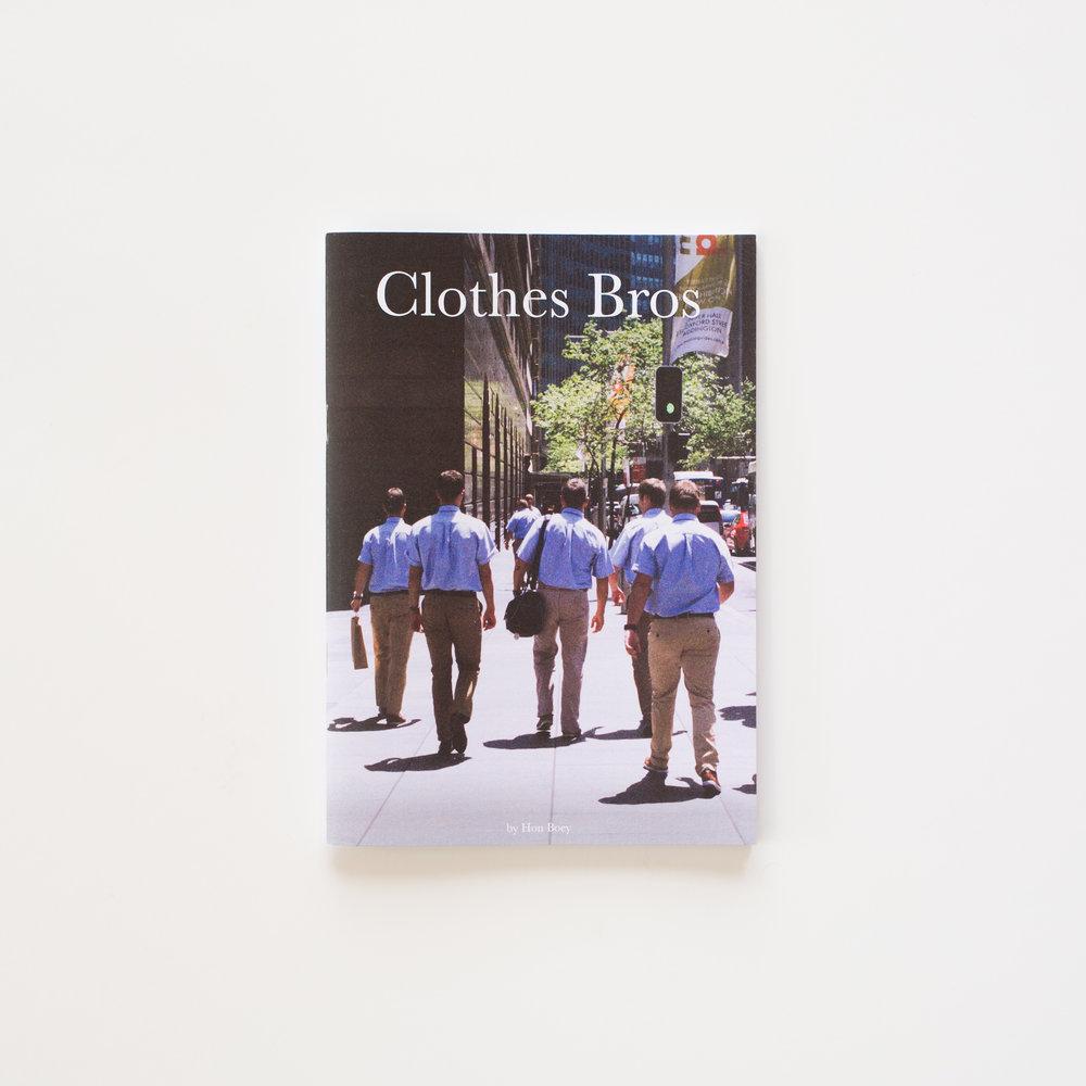 Clothes Bros – Hon Boey, 2015.  honyeah.tumblr.com | psychichysteria.com