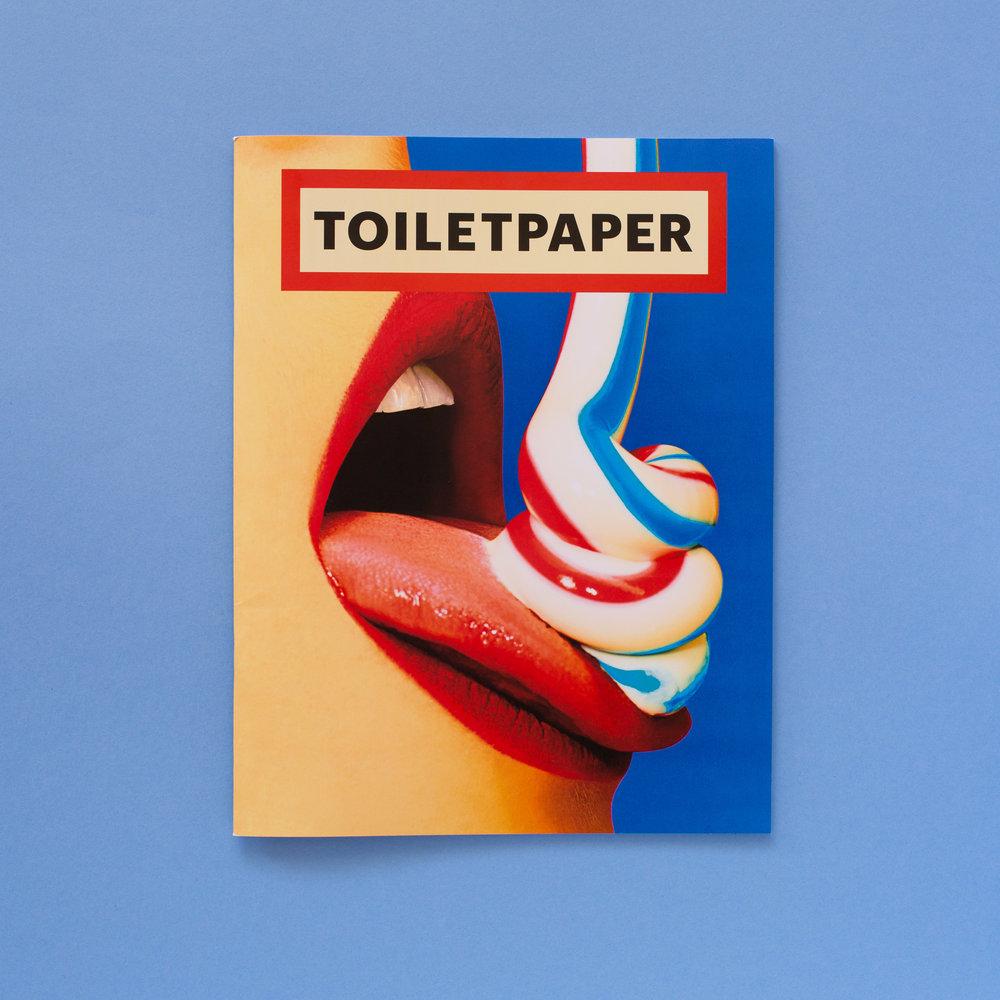 TOILETPAPER 15, 2017.  toiletpapermagazine.org