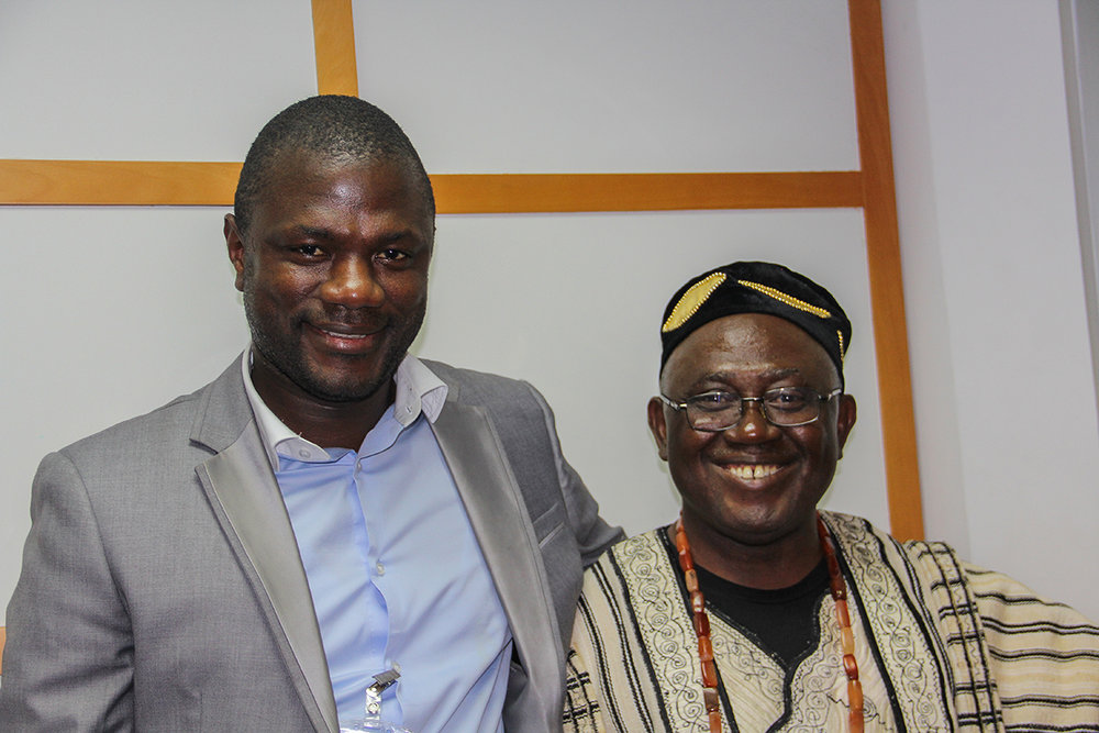 Pastror Momoh and Dr. Koroma