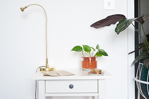 The  Wet Pot  is made by Swedish designers. It helps your plants take care of themselves with its water reservoir.