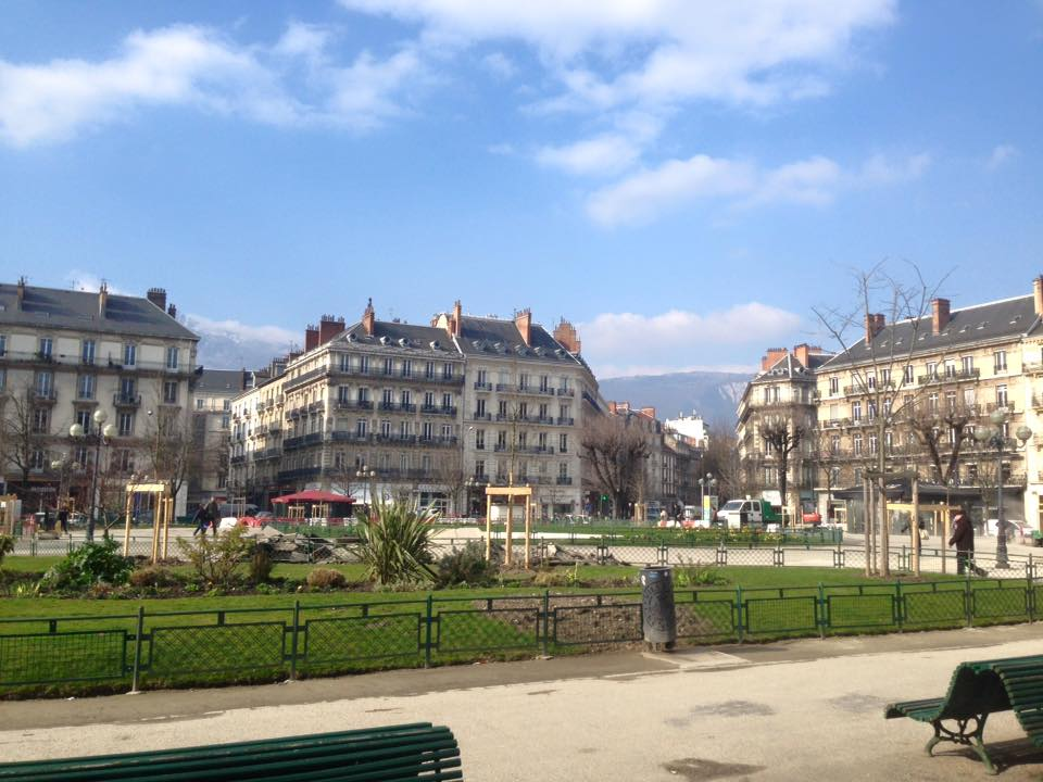 French city of Grenoble France