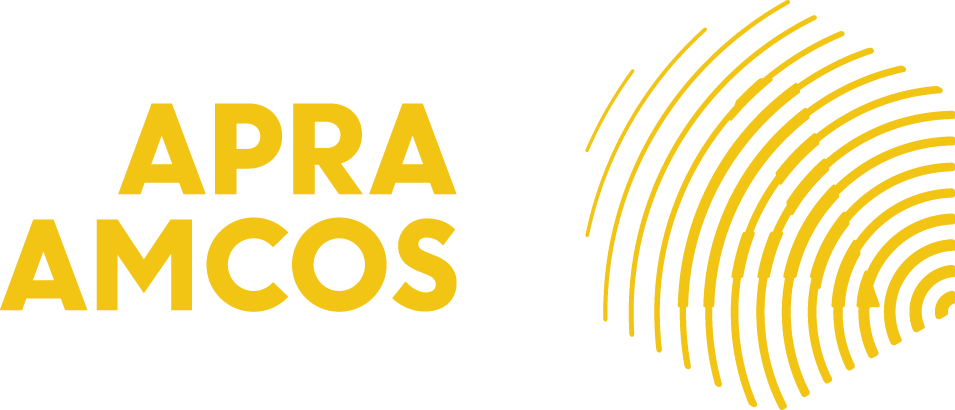 APRA AMCOS horiz right yellow CMYK.png