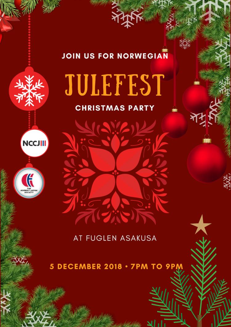 Norwegian Julefest Christmas Party - A NCCJ-NJS Collaboration ...