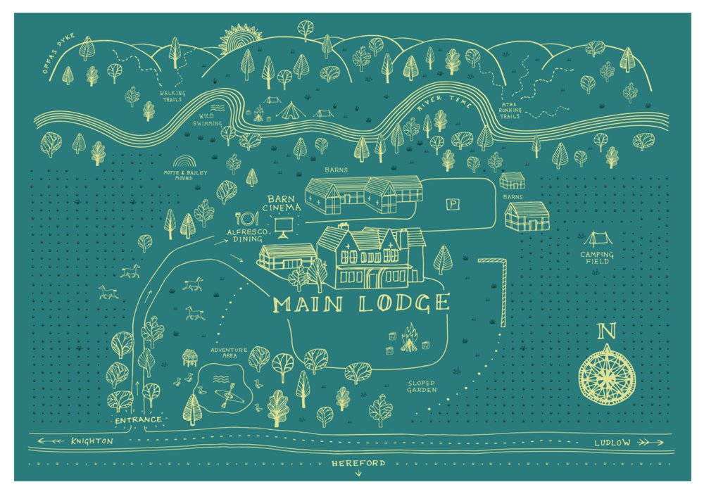 A map of the grounds can be downloaded  here .