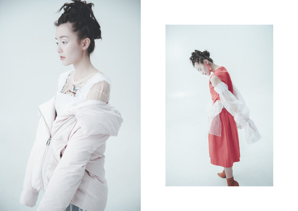 model/  Lam Ting  stylist/  Yuka Lai  makeup & hair/  Coey Wong