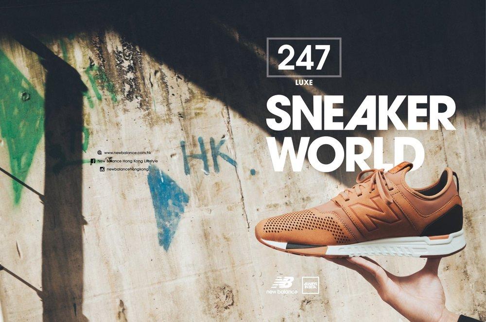 Stylist/ Syan Leung  MUA/ Janet Huang  Model/ Adam Stick  Assist/ Near Chiu  Ho Kwong Ho  Creative/ Tomorrow Communications    New Balance Hong Kong Lifestyle