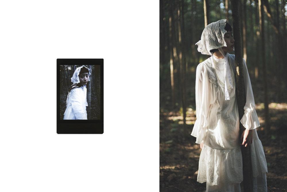張蔓蔓  model/ Gigi Cheung & Sabrina Cheung  stylist/ Yuka Lai