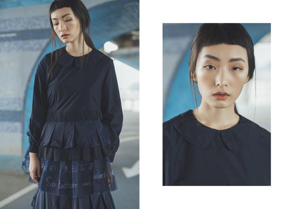 model/ 朱葒  makeup &hair/ Claudia__.W