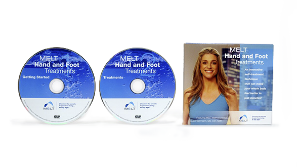 Hand & Foot Treatment DVD - The MELT Hand and Foot Treatments DVD includes 8 individualized treatments for the hands and feet so you can MELT on your own every day.$19.99