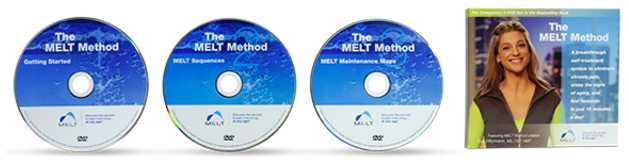 MELT Method DVD - The MELT Method DVD is the perfect companion to the bestselling MELT Method book. Your journey to a pain-free life starts here!$29.99