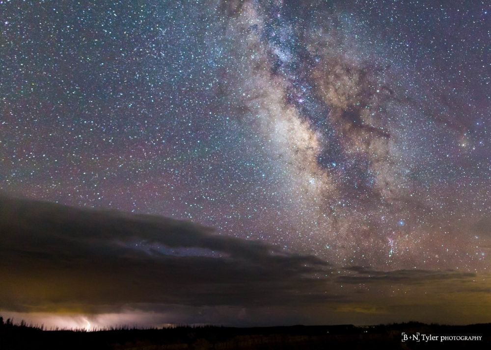Thunder, Lighting and the Milkyway