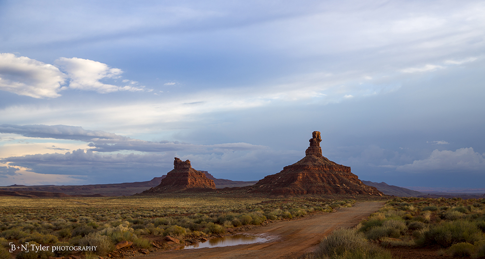 Rooster Butte & Setting Hen Butte