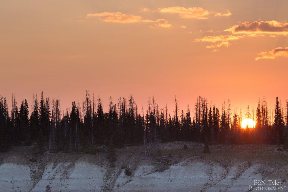 Sunrise over Cedar Breaks