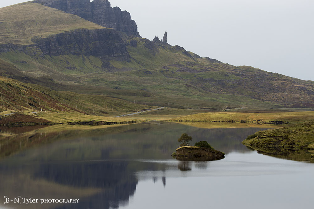 Afar, The Old Man of Storr