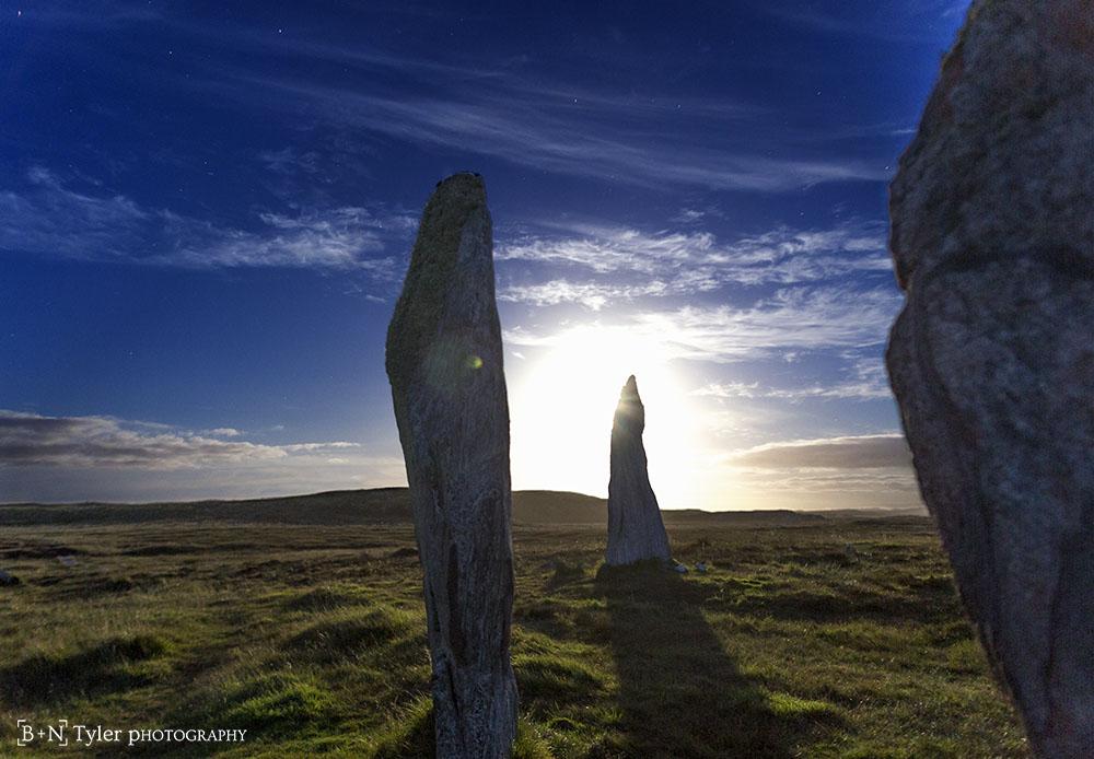 Moonlight Callanish II stones
