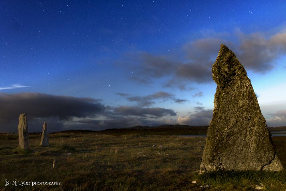 Stars over Callanish II