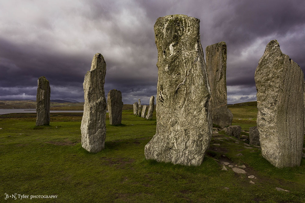 Clouds over Callanish I
