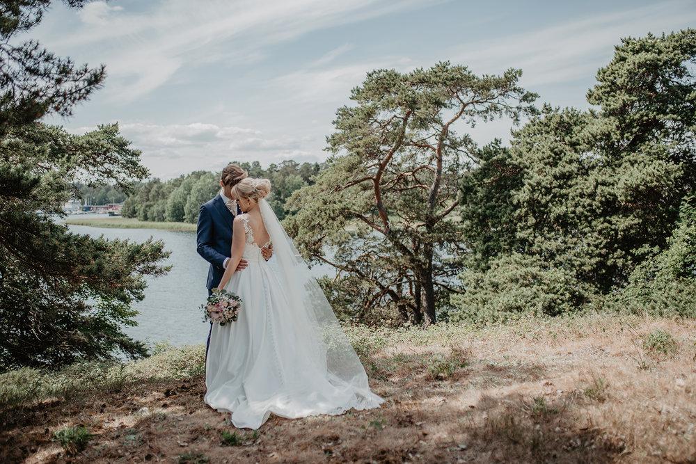 Skärgårdsbröllop på Värmdö