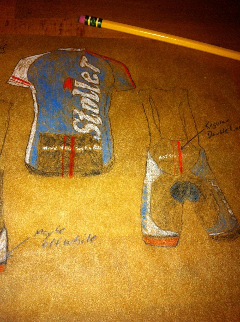 Stoller design sketch