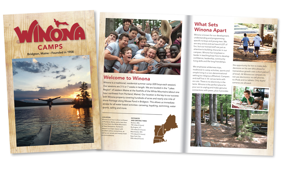 Camp Winona Brochure