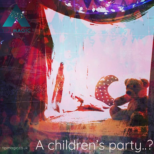 We love setting up our tipis for weddings but this is not all these magical structures can be used for. In fact, the possibilities are endless. This week, we will enjoy passing some inspiration your way. What about a children's party? #makingmagicalmemories #tipihire #tipievents #tipiinspiration #childrensparty