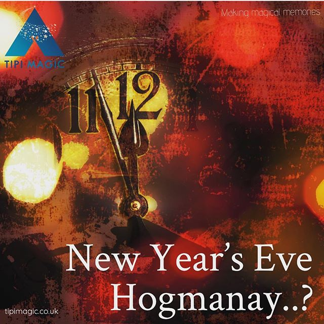 We love setting up our tipis for weddings but this is not all these magical structures can be used for. In fact, the possibilities are endless. This week, we will enjoy passing some inspiration your way. What about New Year's Eve Hogmanay? #tipi #tipihire #tipievents #events #wrexham #makingmagicalmemories #newyearseve #hogmanay