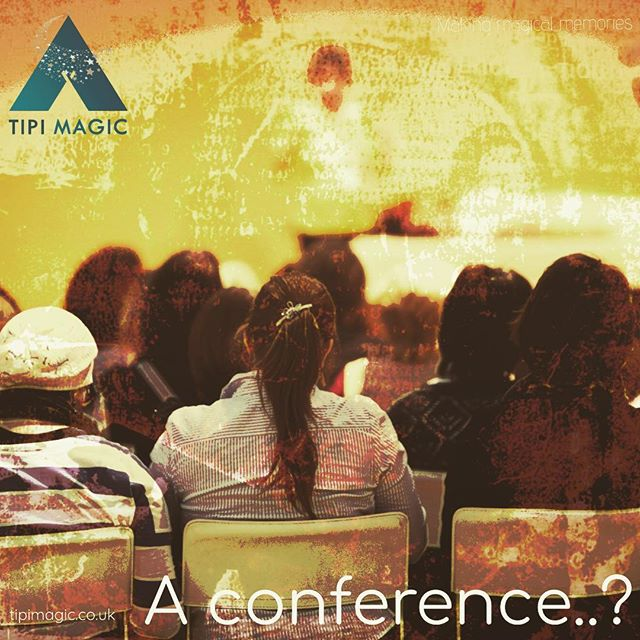 We love setting up our tipis for weddings but this is not all these magical structures can be used for. In fact, the possibilities are endless. This week, we will enjoy passing some inspiration your way. What about a business function, away day or conference? #tipi #tipihire #tipievents #events #wrexham #makingmagicalmemories #conference #delegates #awayday