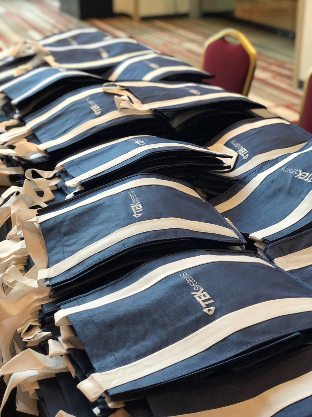 Conference Bags - • 1 available sponsorship• Logo on conference bags to be designed and supplied by conference• All SUPPORTER benefits plus:• 1 additional complimentary registration• $3,500 for all day on Friday, August 23rd