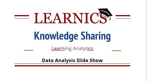 Learnics Orientation - Click the image to view the Learnics presentation.Present about Learnics to a colleagueLearn how and why use LearnicsShare how you're learning analytics with administration