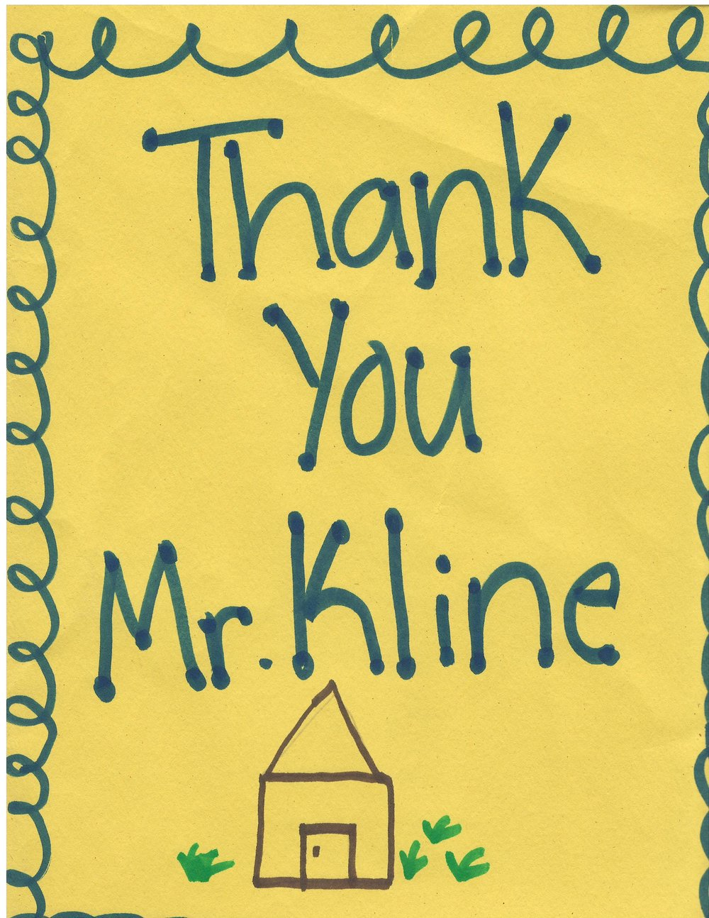 A warm thank you from the students at Waugh Chapel Elementary School who welcomed me to their recent Career Day event!
