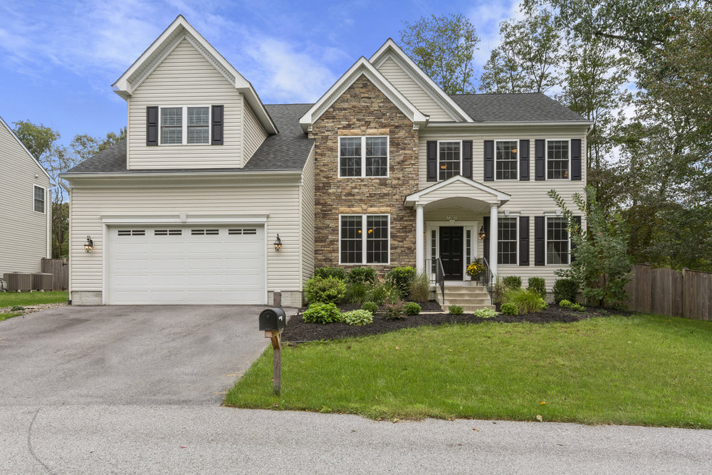7707 Brasswood Lane in Severn, Maryland. The home was recently sold in two weeks for full asking price ($575,000) by Jerry Kline, realtor, Keller Williams Flagship of Maryland.