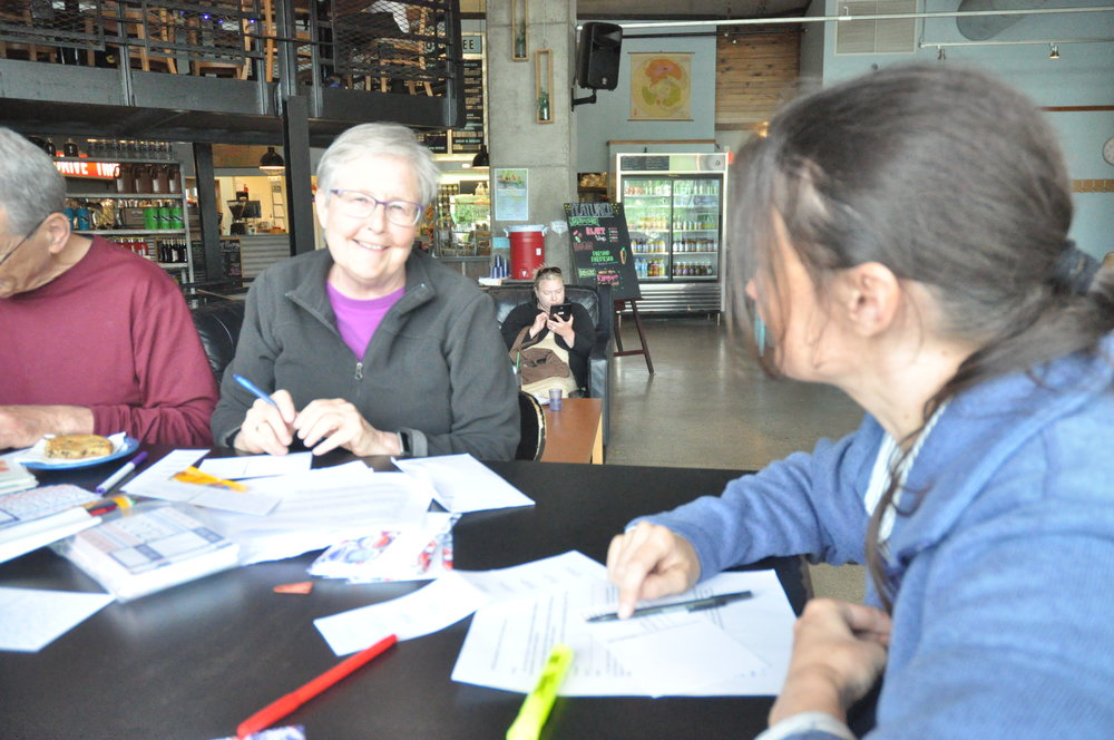 OWR teamed up with Indivisible Madison to write postcards in support of Assembly District 42 candidate Ann Grove Lloyd.