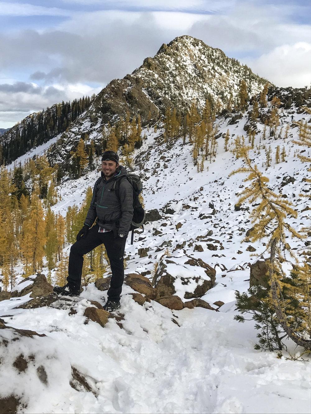 Hiking in the Alpine Lakes Wilderness, WA