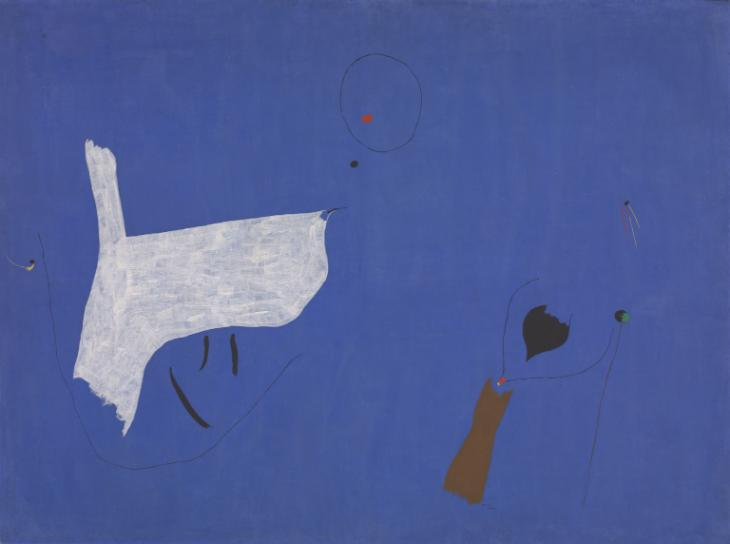 Joan Miro.  Photo from Tate.org.uk