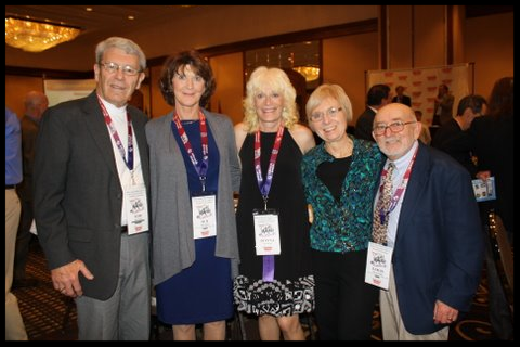 2012 RRCA Convention: Tom & Sue Kramer, Lou & Lynda Molinaro, and Outstanding Large Club Newsletter Award Winner-Donna Graham