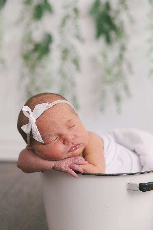 posed studio newborn baby session in cortland oh by newborn photographer christie leigh photo-2.jpg